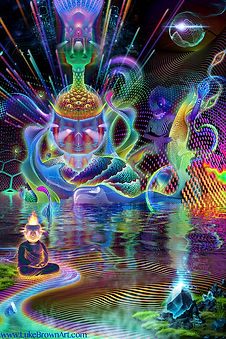 Cosmic Circus by Luke Brown