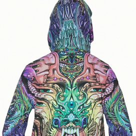 Alpha Centauri Hooded Zip Jacket