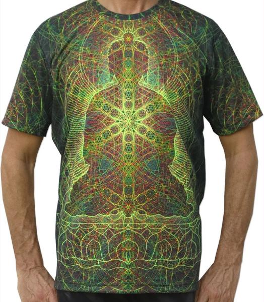 Rainbow Buddha UV T-Shirt