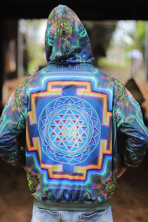 Sri Yantra UV Hoodie