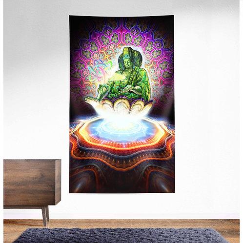 Maitreya UV Reactive Tapestry