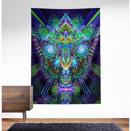 Garuda UV Reactive Tapestry