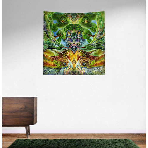 Salvia Dalinorum UV Reactive Tapestry