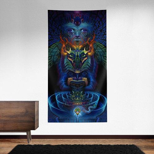Hierophant UV Reactive Tapestry