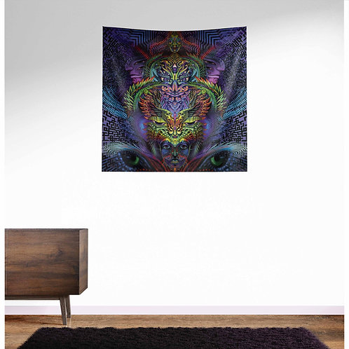 Eudaimonia UV Reactive Tapestry