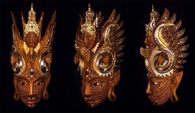 Fractal Feline Mask