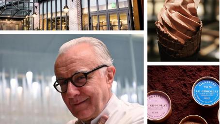 Alain Ducasse réalise son rêve d'enfant : ouvrir à Paris sa Manufacture de glace