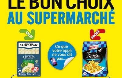Le Bon Choix au supermarché, un guide pour éviter les produits ultras-transformés
