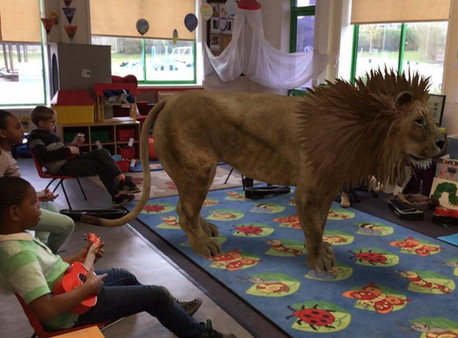 Note from the Principal: This Fall Your Classroom Will be Equipped with a Lion