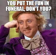 Comedy Improv Funeral
