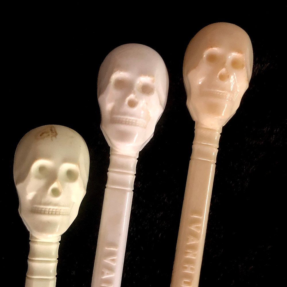 Skull, Swizzle Stick, Ivanhoe, Chicago