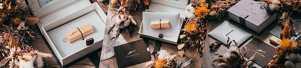 艾爾影像婚禮錄影的成品寄送USB與精美包裝