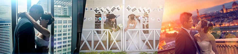 艾爾影像婚紗側錄的唯美畫面