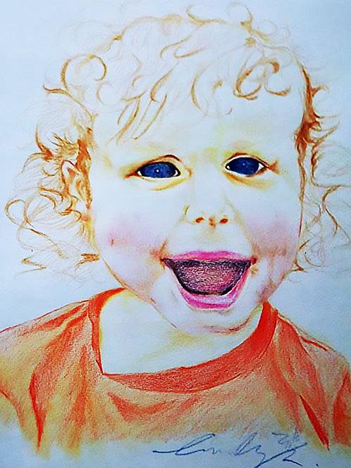 Customize Multi-Colored Portrait