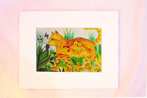 "Beautiful Art Print/ Wall Decoration - The Adventure 居家掛牆畫""大冒險"""