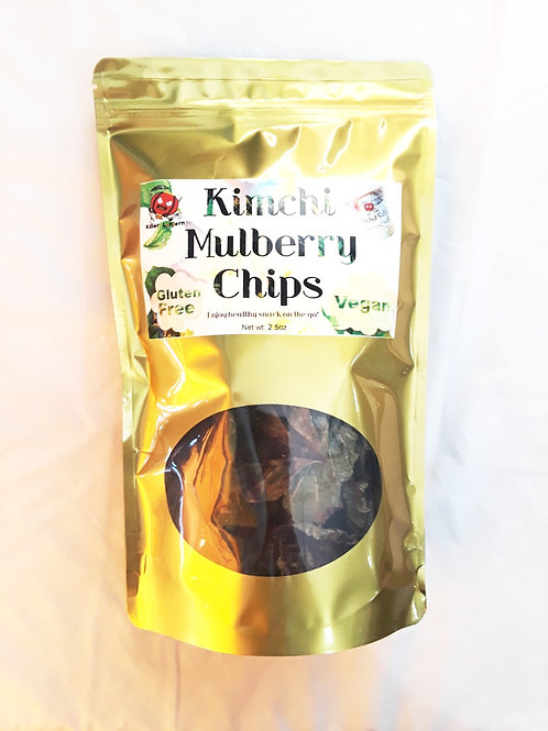 Kimchi Mulberry Chips 泡菜桑葉片