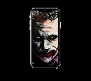 JOKER-DarkKnight_iPhone X wallpaper_devi