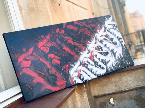'BLOOD IS LIFE' | 40x80cm | 2020