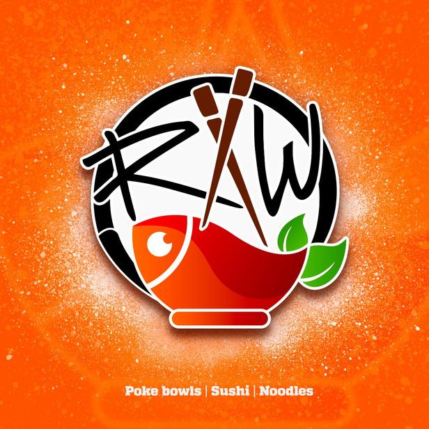 RAW restaurant logo /2020/