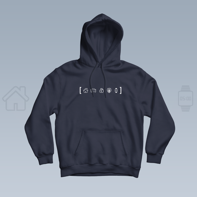 Ektor - Do Pěti   Rap merchandise hoodie