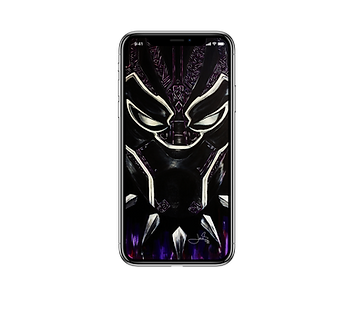BLACK PANTHER_iPhone X wallpaper_device.