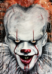PENNYWISE painting by Devid Jones