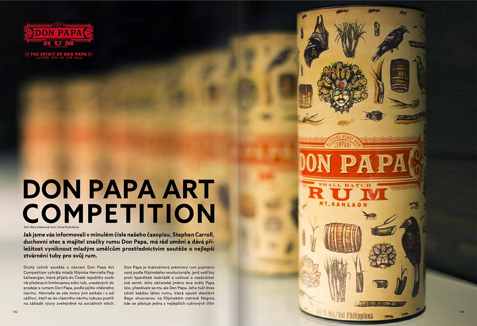 Don Papa Art Competetion - Warehouse #1 magazine