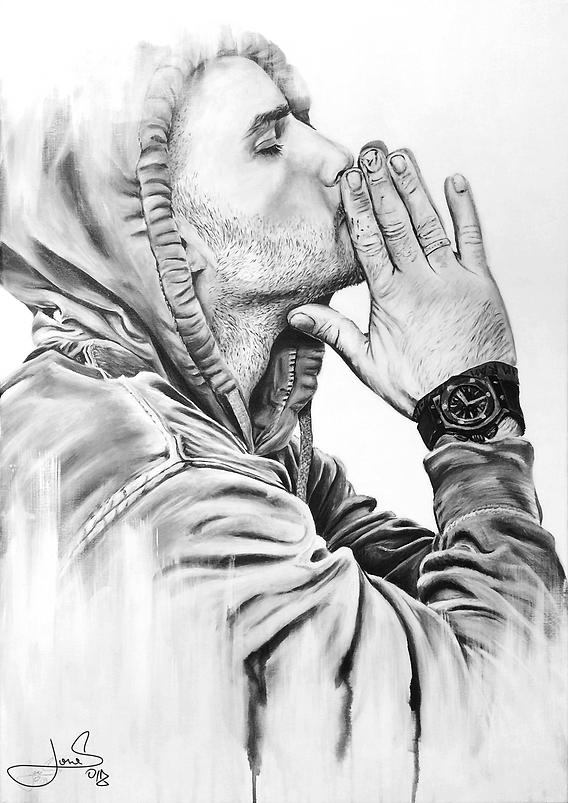 Portrait Painting   Ego   100x70 cm