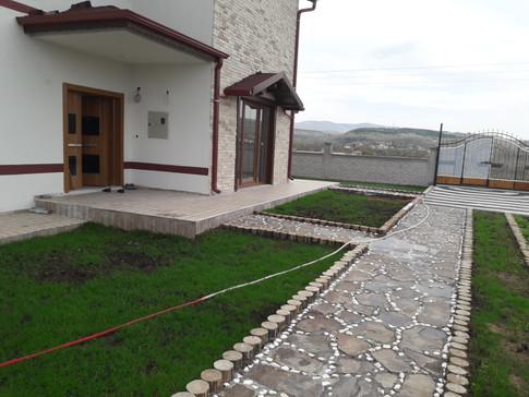 Gesi Çiftlik Evi Projesi Bahçe