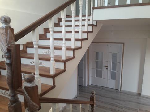 Gesi Çiftlik Evi Projesi Merdivenler
