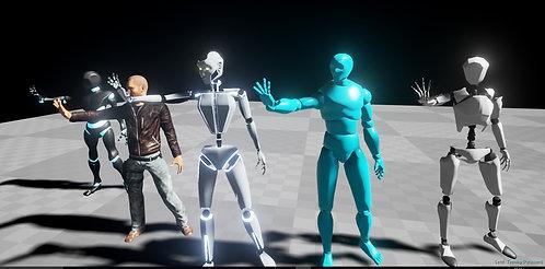 Perception Neuron UE4 Avatar