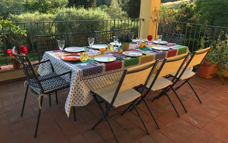 The Private Terrace of Casa Noscali