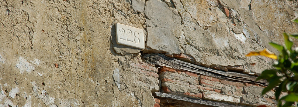 Original Apartment Numbers