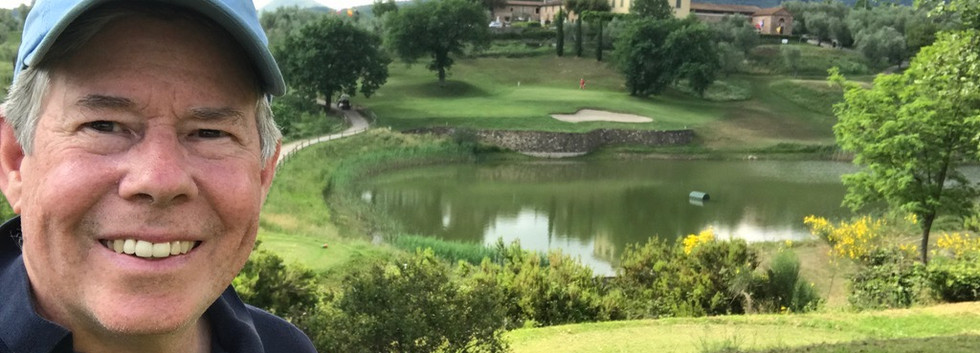 The 18th Hole at Montecatini Golf Club
