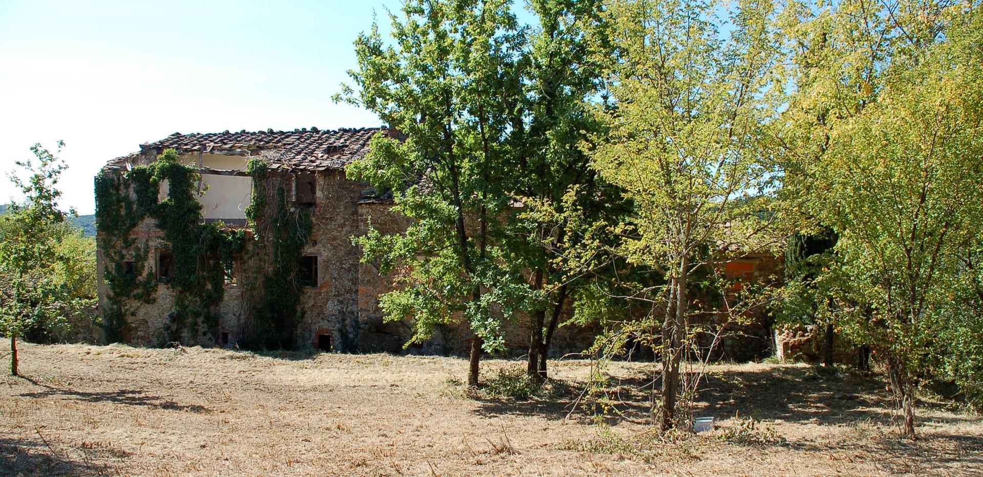 The Back of il Borghetto