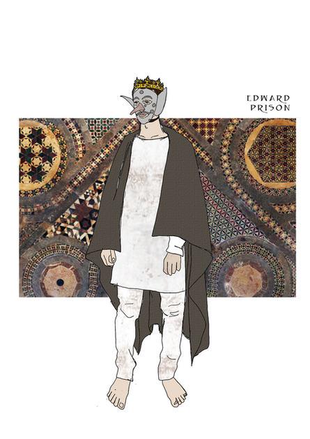 Edward in prison