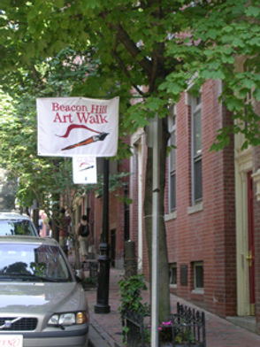 beacon hill art walk kaylie abela neighborhood