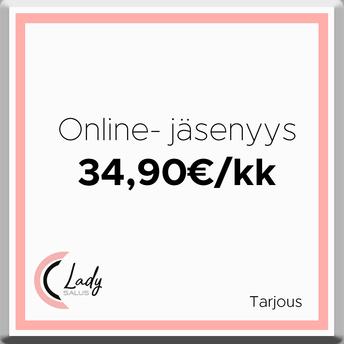 Lady Salus Online-jäsenyys 34,90€