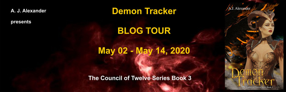 A.J. Alexander's blog tour.