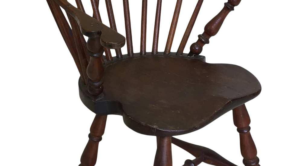 1780's Brace Back Windsor Armchair.