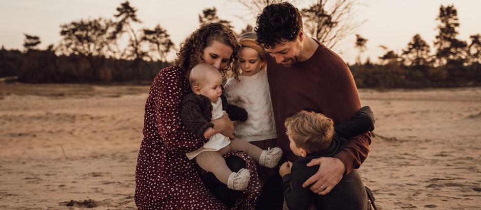 10 tips om zelf mooie gezinsfoto's te maken