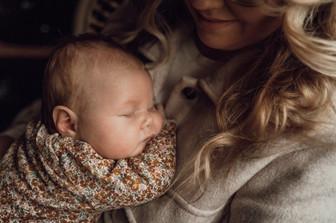 Newborn fotoshoot Apeldoorn