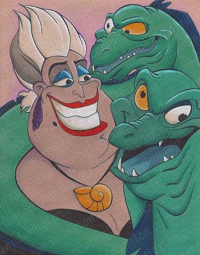 Ursula - 11x14 Print