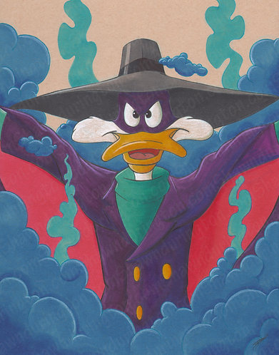 Darkwing Duck - 11x14 Print