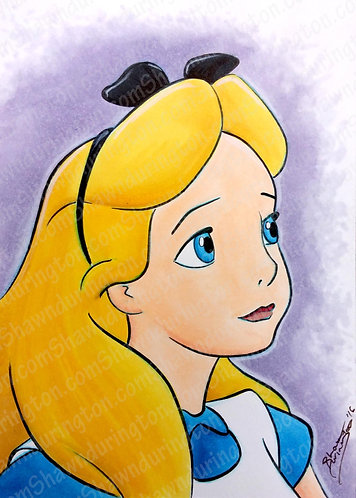 Alice - 5x7 Print