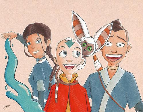 Avatar - 11x14 Print