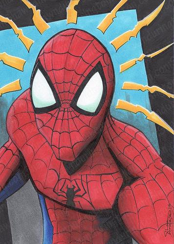 Spiderman - 5x7 Print