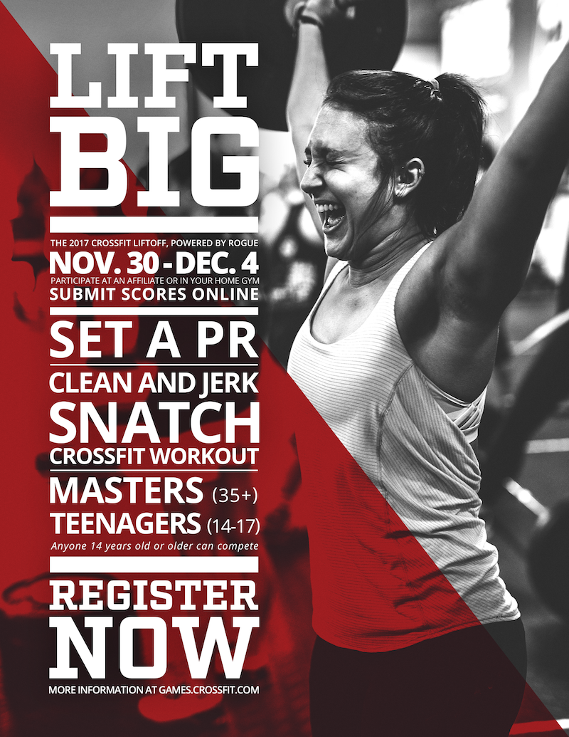 Crossfit Lift Off is coming to HPA