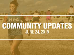 Community Updates - June 24th, 2019