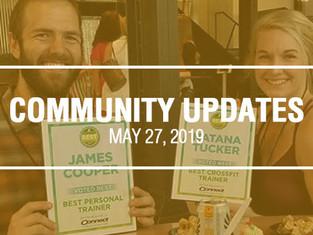 Community Updates - May 27th, 2019